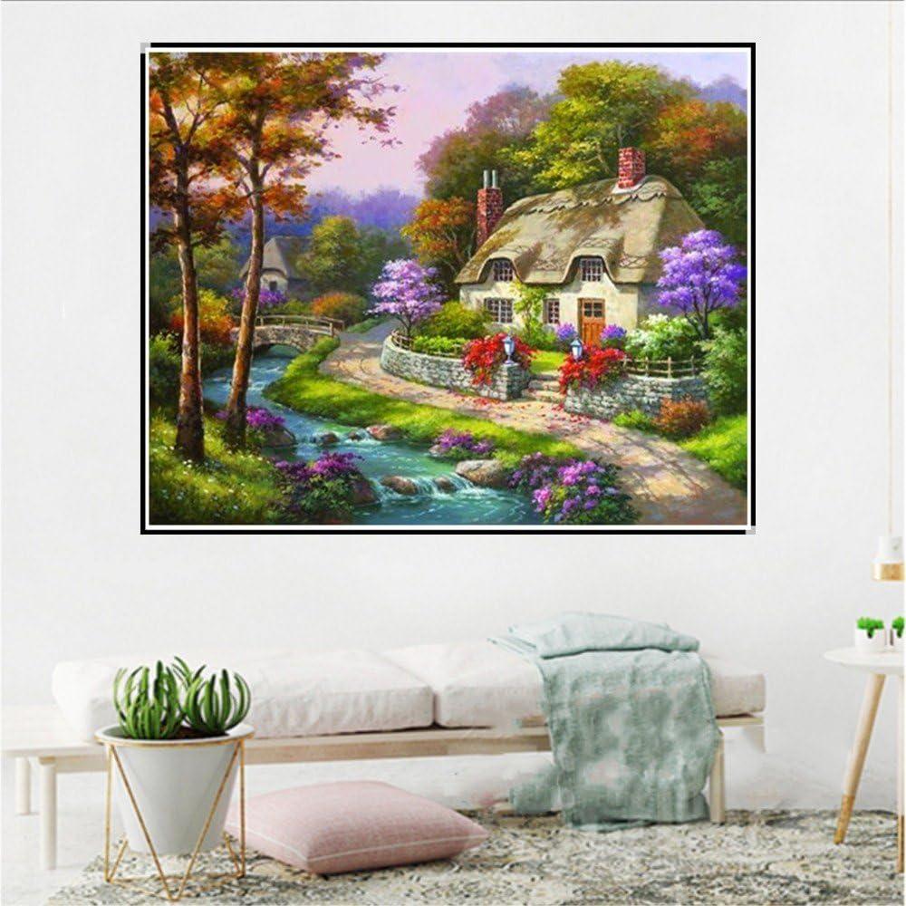GRANDE Giardino Fata Castello Principesse Casa sull/'Albero Fata in resina casa decorazione giardino