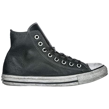 e5ab61d9d52bd CONVERSE ALL STAR LIMITED EDITION PELLE NERO UOMO DONNA INVERNO ...