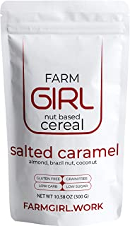 Farm Girl Breakfast Keto Granola - Delicious Taste - Low Carb Cereal, Gluten & Grain Free- High Fat, High Protein Keto Cerea