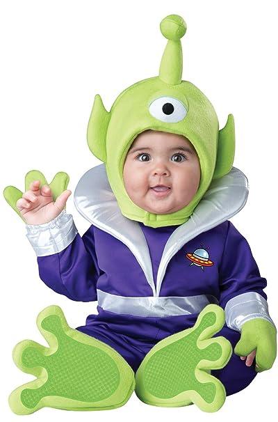 Amazon.com: Incharacter Disfraces del bebé Mini Marciano ...