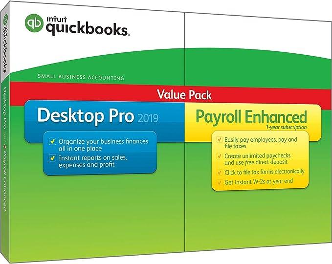 Intuit QuickBooks Desktop Pro 2019-1 user Canadian