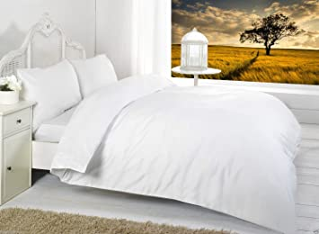 Dyed Fitted Sheet Single Double King All Size Polycotton Bed Sheet Pillow Cases