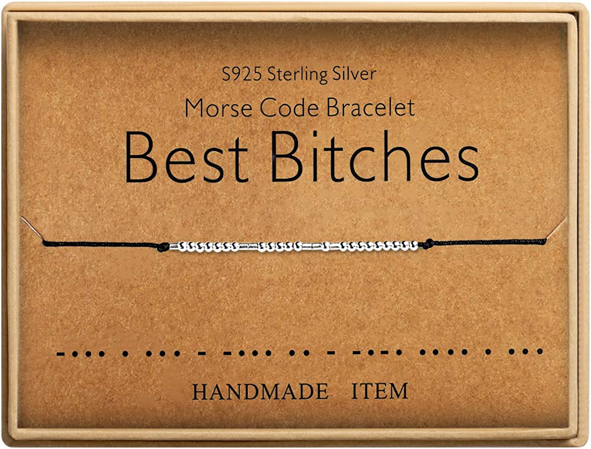 Best Bitches Bracelet Morse...