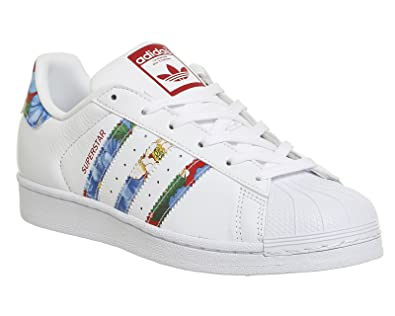 Femme Argent Baskets Blanc Adidas Pour White Superstar W O0vN8nwm