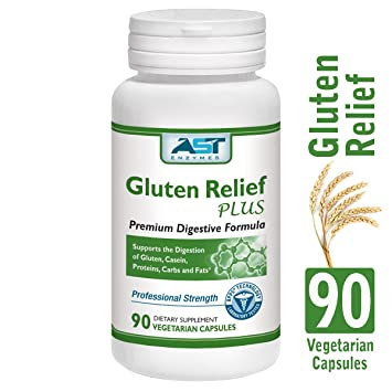 Amazon.com: Gluten Relief Plus – 90 Cápsulas vegetarianas ...