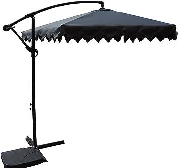 Pebble Lane Living 360 Degree Turning Vented Umbrella
