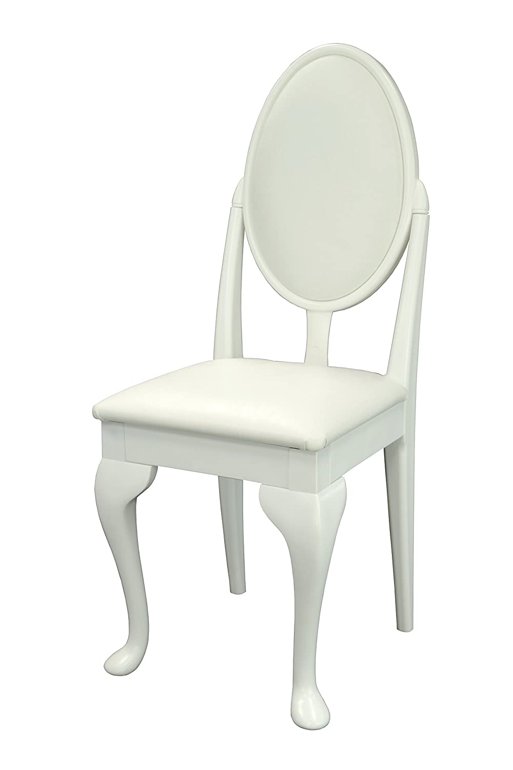 Leather Bedroom Chair White Dressing Table Bedroom Chair With Cabriole Legs And White