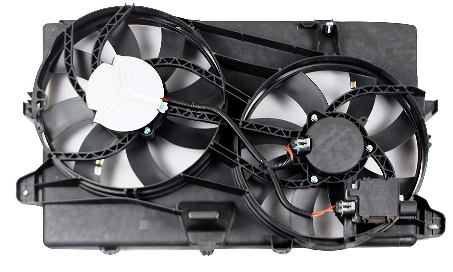 BOXI Dual Radiator Cooling Fan Assembly For Ford Edge 2007-2015 Lincoln MKX 2007-2015 7T4Z8C607A