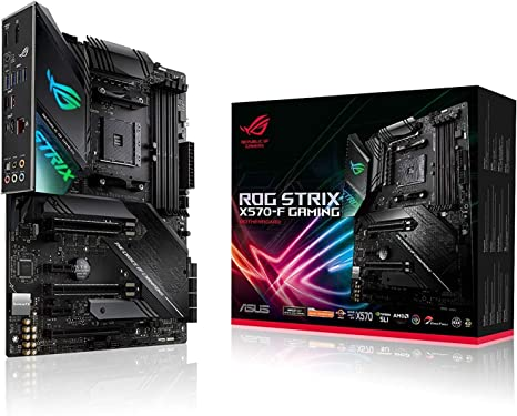 Amazon Com Asus Rog Strix Gaming Am4 Amd X570 Atx Ddr4 Sdram Motherboard Computers Accessories