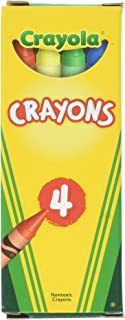 product image for Crayola 4 ct Crayons - 24 Boxes per case Pack