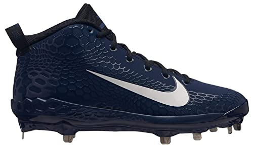 9a7266249 Image Unavailable. Image not available for. Color  Nike Men s Force Zoom  Trout 5 Pro Metal Baseball Cleat Black White Oil Grey