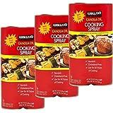 6 Pack Kirkland Signature Canola Oil Cooking Spray 16 Oz