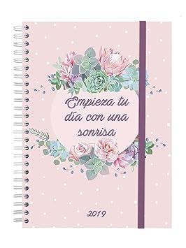 Agenda 2019 semana vista vertical español