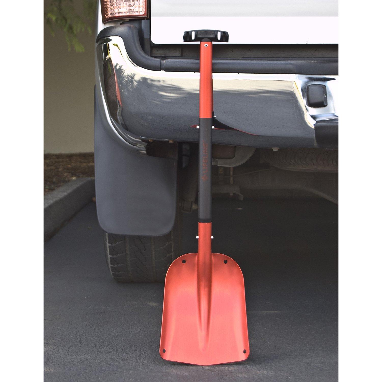 Lifeline First Aid AAA 4004 Aluminum Sport Utility Shovel, Red ...