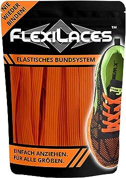 Elastische Schnürsenkel ohne Binden LEUCHTENDE FARBEN NEU FLEXILACES™ Laces