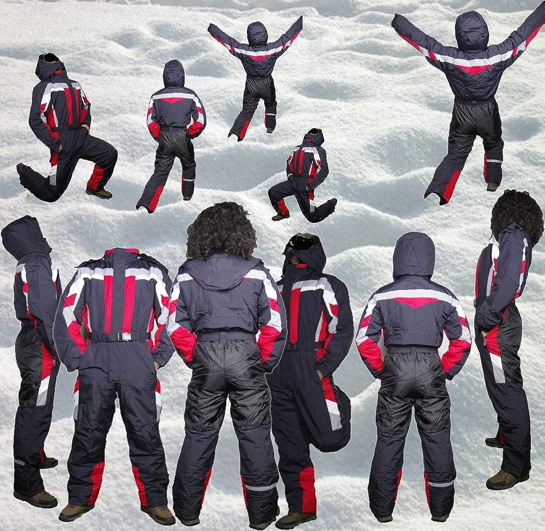 Herren Rot,146-170 M/ädchen Schneeoverall Skianzug Jungen Moderei Auswahl an Schneeanzug Damen Schneeanzug Skioverall Snowboard Unisex
