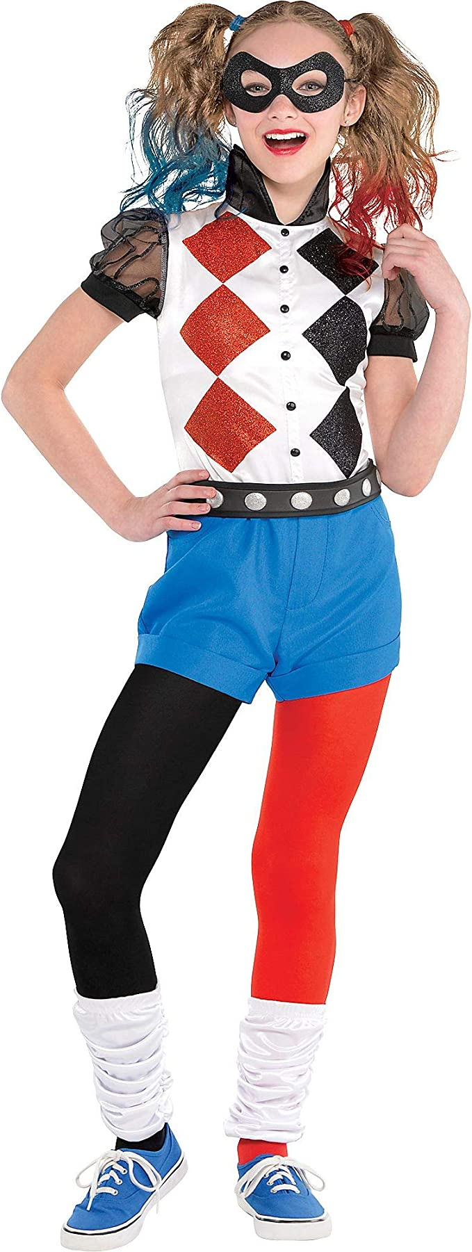 Amazon.com: Costumes USA DC Super Hero - Disfraz de Harley ...