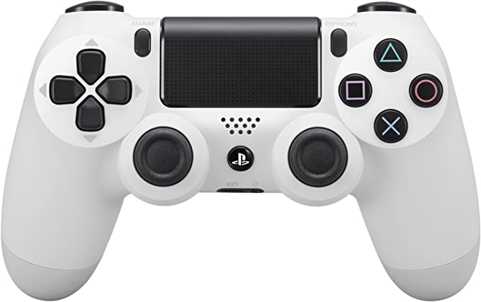 Sony - Mando Dual Shock 4, Color Blanco (PlayStation 4): Amazon.es: Videojuegos