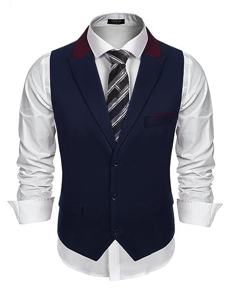Amazon.com: COOFANDY - Chaleco de estilo años 20 para hombre ...