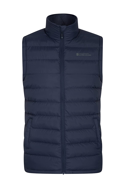 Mountain Warehouse Seasons Mens Gilet Jacket - Padded Summer Coat
