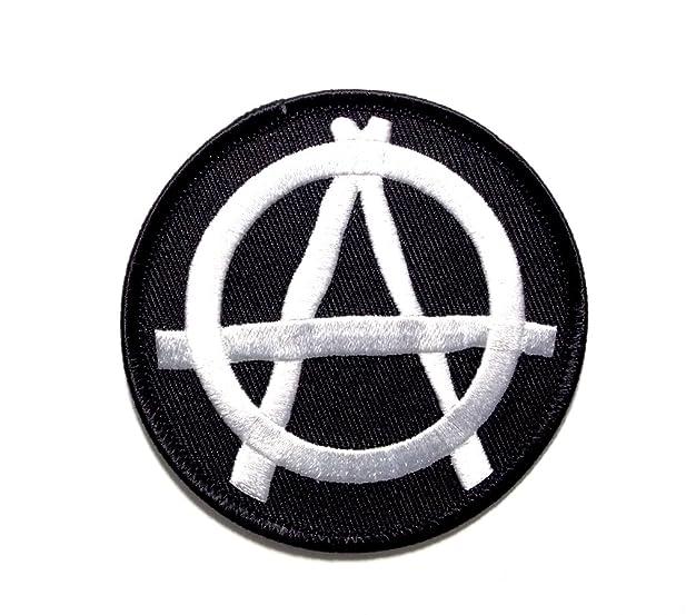 Amazon Anarchy Outlaw Wild Disorder Mayhem Embroidered Biker