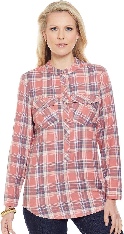 Nino Cerruti Camisa De Cuadros para Mujer Naranja 50: Amazon.es: Ropa y accesorios