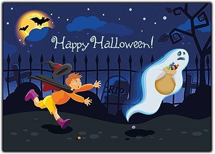 Halloween Niños Tarjetas de invitación Invitación adultos ...