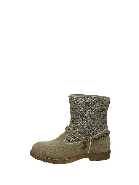 982457f4d Nero Giardini - Botas para niña Beige Tortora  Amazon.es  Zapatos y  complementos