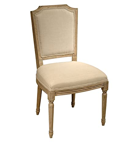 Superb Sulpice Shield Back French Country Spindle Leg Dining Chair