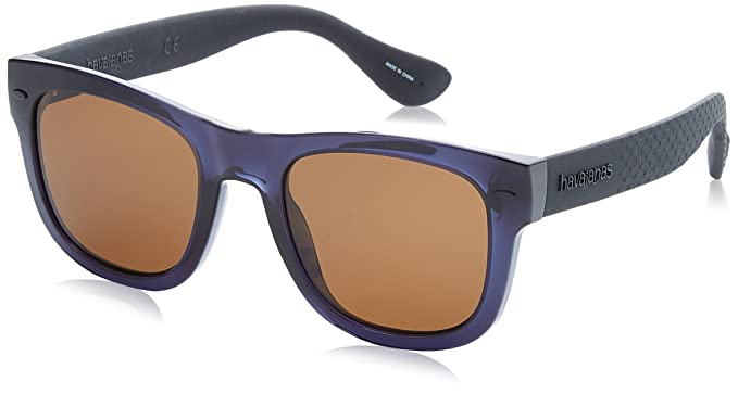 Havaianas Sunglasses Paraty, Gafas de Sol para Hombre, Azul (Blue Black),