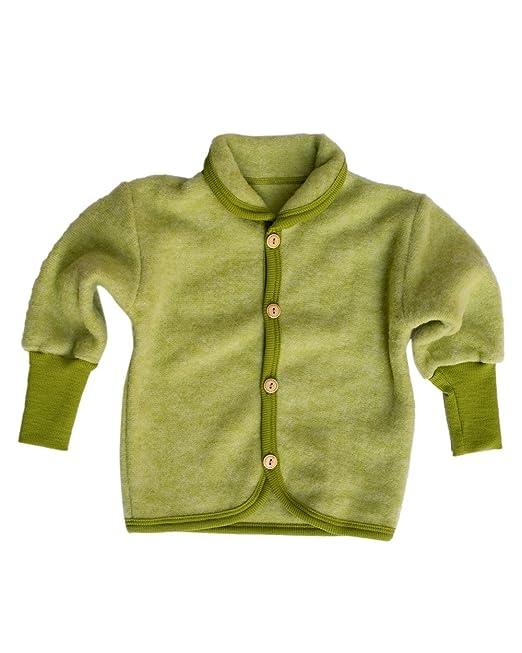 Chaqueta de bebé Cosilana con cuello redondo y botones de ...