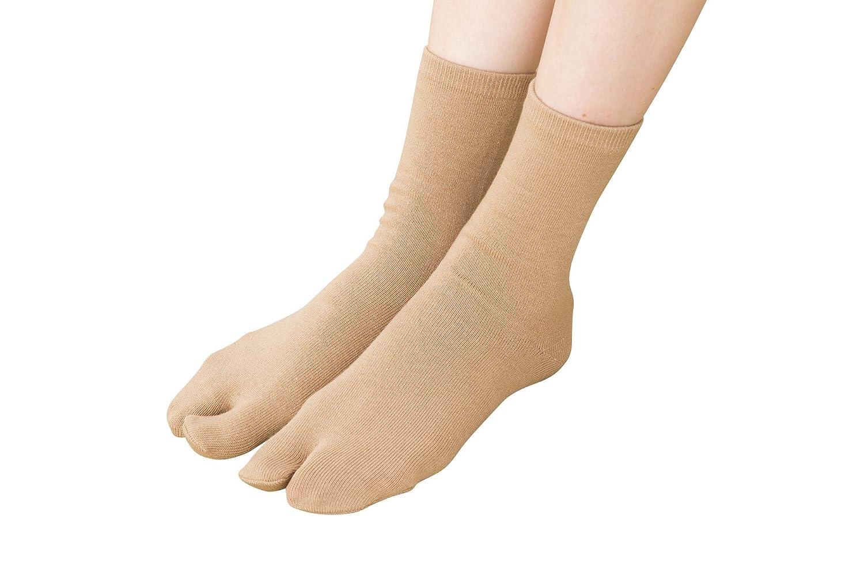 足袋 ソックス 15cm丈 (足袋代わりに使える)(抗菌防臭)(日本製 Made in Japan) 靴下 レディース
