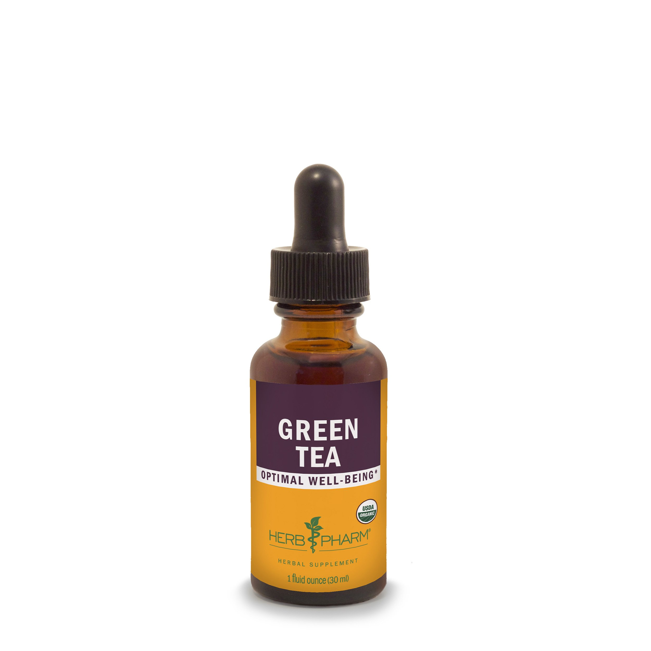 Herb Pharm Certified Organic Green Tea Extract - 1 Ounce