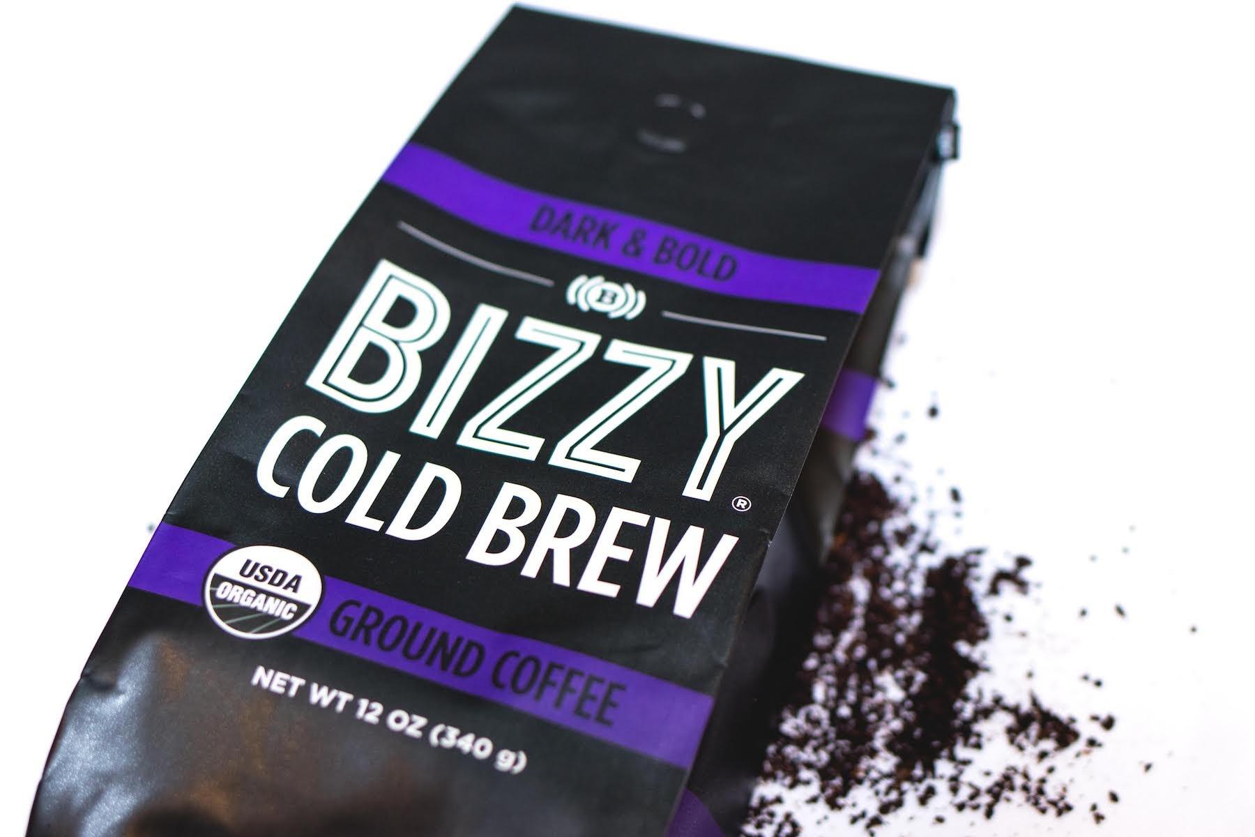 Bizzy Organic Cold Brew Coffee - Dark & Bold Blend - Coarse Ground Coffee - 12 oz by Bizzy (Image #4)