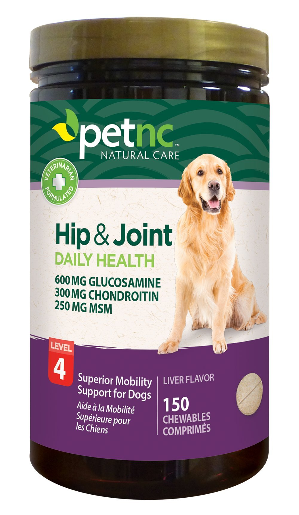 PetNC Natural Care Hip & Joint Health Level 4 by PetNC Natural Care