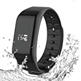 Foccoe Pulsera Inteligente Smartwatch,Pulsera Inteligentes Smart watch bluetooth Inteligente de Monitorización de la Salud ,c