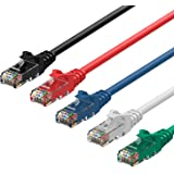 Rankie Cable de red Gigabit Ethernet RJ45 CAT.6, 1,5 m, 5-Color Combo
