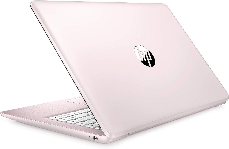 (Renewed) Newest HP Stream 14 inches HD (1366x768) Display, Intel Celeron N4000 Dual-Core Processor, 4GB RAM, 32GB eMMC, HDMI, WiFi, Webcam, Bluetooth, Win10 S, Rose Pink
