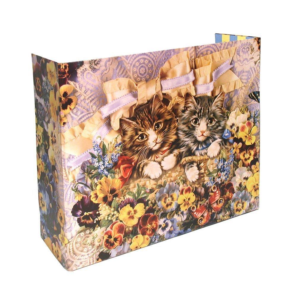 Privé Kitty Litter Screen Floral Design