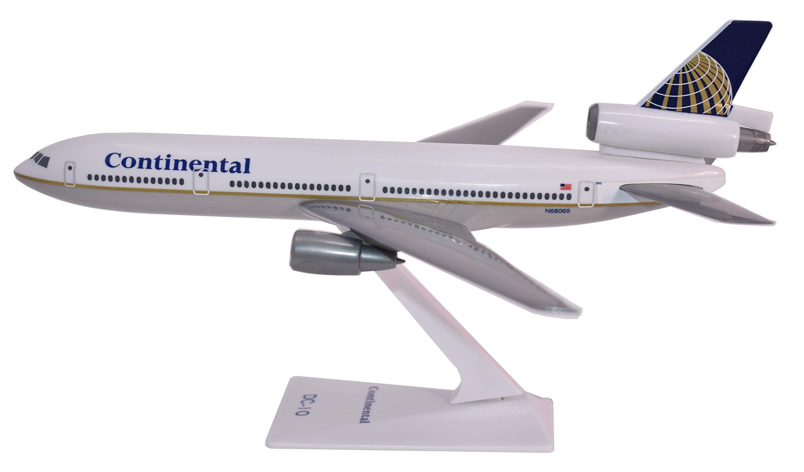 Flight Miniatures Continental Airlines Douglas DC-10 1:250 Scale