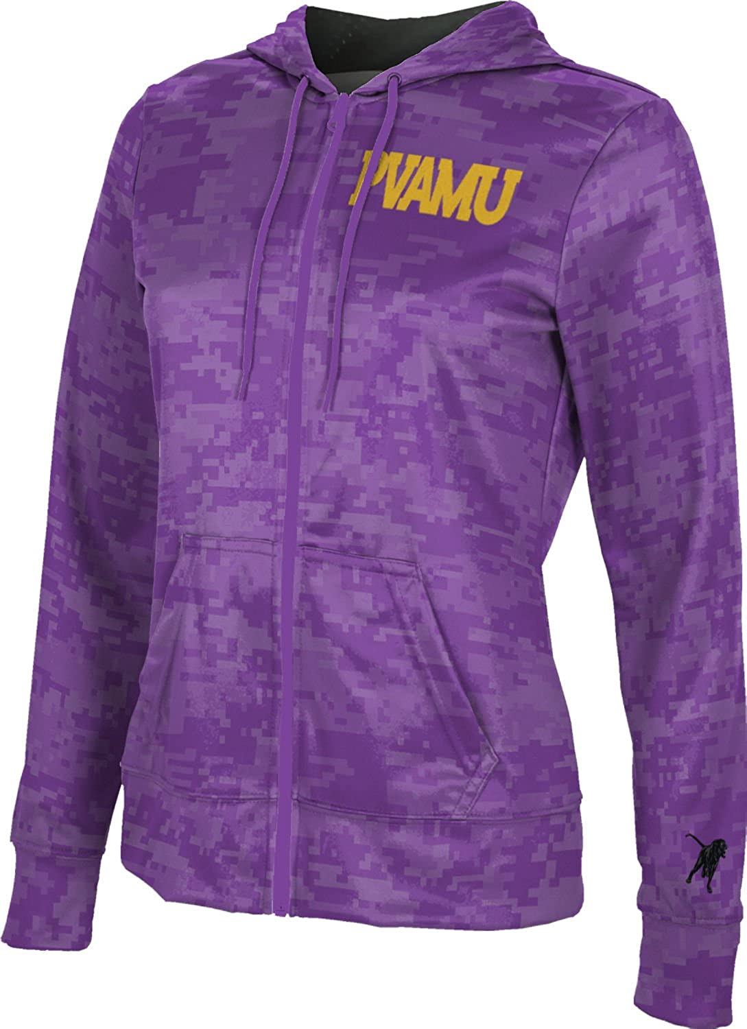 Prairie View A/&M University Girls Zipper Hoodie Prime School Spirit Sweatshirt