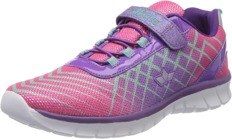 Lico Lenja Vs, Zapatillas de Marcha Nórdica para Mujer, Morado Lila/Pink/Türkis, 41 EU: Amazon.es: Zapatos y complementos