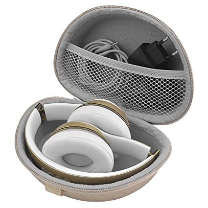 Headphones Carrying Case for Beats Solo3, Solo2 Wireless, Wired On-Ear Headphones /