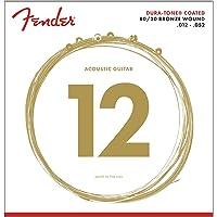 Fender 880L 80/20 Dura-Tone Coated Acoustic Strings