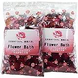 ROSE BATH バラの花の咲く入浴剤 2個セット 薔薇の花のお風呂 Flower Bath バラ風呂