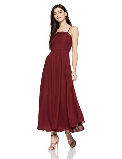 b311804b256 Stalk Buy Love Women s Gladwell Maxi Dress (In1637Mtodrered-119 Red M)