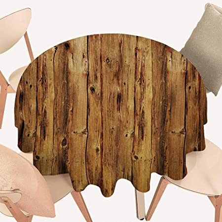 Decoración rústica para Mesa de Comedor, Puerta de Madera de una casa de Piedra con Elementos de Hierro Forjado Toscana Arquitectura FotoMarrón Gris: Amazon.es: Hogar