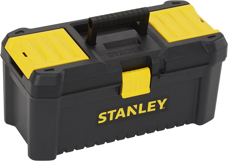 STANLEY STST1-75517 - Caja de herramientas de plastico con cierre de plastico, 20 x 19.5 x 41 cm: Amazon.es: Bricolaje y herramientas