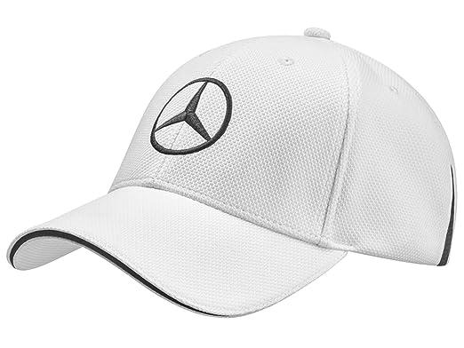f1a7295f56b72 Mercedes Benz Golf Cap White Black
