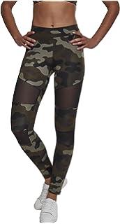 8f1c6058aea8db Urban Classics Damen Leggings Ladies Camo Tech Mesh: Amazon.de ...